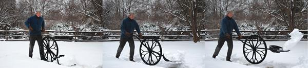 wovel wheeled shovel